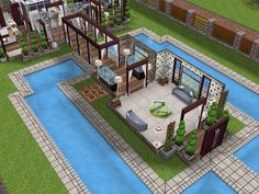 Pin on My Sims Freeplay Houses