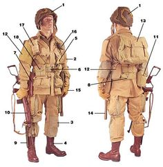 WW2 US Normandy Uniform   WW2 Airborne Uniforms Equipment