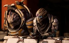 A closer look at Drack and Vetra