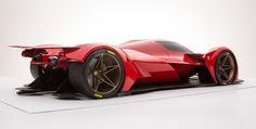 Futuristic #FerrariLeMans #PrototypeRenderings Are Sensational