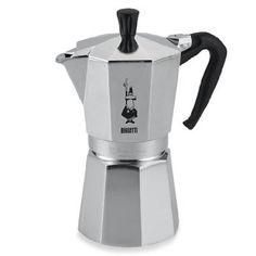 Amazon.com: Bialetti 6800 Moka Express 6-Cup Stovetop Espresso Maker: Kitchen & Dining