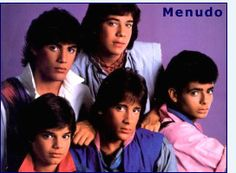 Boy Bands of the 1980s I loved me some Menudo!