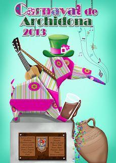 Carnaval de Archidona de 2013 #cartel #diseño #malaga #archidona #carnaval Christmas Ornaments, Holiday Decor, Spain, Posters, Home Decor, Mardi Gras, Poster, Xmas Ornaments, Homemade Home Decor
