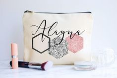 These Corny their personal gifts for best friends are a unforgetable method to show these guys the wonderful spot they have in your spirits. Cute Best Friend Gifts, Love My Best Friend, Presents For Best Friends, Bff Gifts, Cute Gifts, Etsy Bridesmaid Gifts, Bridesmaid Bags, Bridesmaid Proposal Gifts, Personalized Makeup Bags