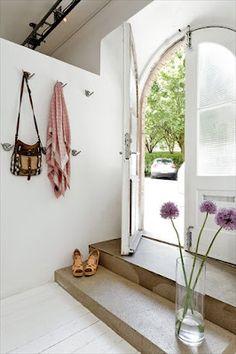 swedish flat, beautiful entry #interior #entry #modern