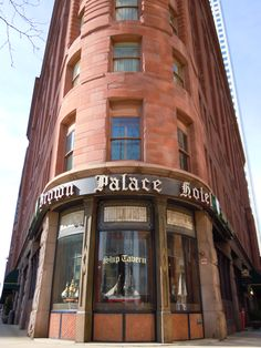 The Brown Palace Hotel - Denver this is where are are thinking about having our wedding/reception at