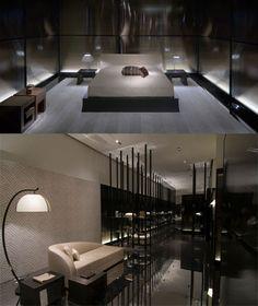 Moscow, Armani/Casa Armani Interiors, Armani Hotel, Interior Architecture, Interior Design, Modern Bedroom Decor, Hotel Lobby, Master Bedroom, Moscow, Living Room