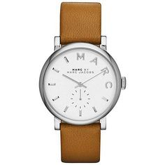 Montre pour femme : Buy Marc by Marc Jacobs Womens Baker Leather Strap Watch Online at johnlewis.co