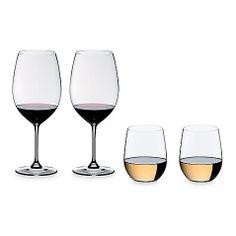 Riedel® Vinum XL Cabernet in with 2 Bonus O Glasses (Set of 2) SKU # 17528920