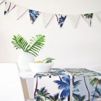 Escape to paradise Bunting