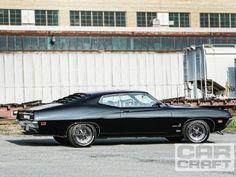 1970 Форд Торино - Редкие И Восстановленные - Прокат Ремесло Журнал