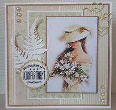 Velkommen inn Birthday Cards For Women, 3d Cards, Scrapbooking, Envelope, Birthdays, Presentation, Paper Crafts, Frame, Vintage
