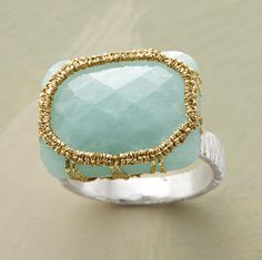 Love gold and turquoise.
