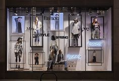 "MISS SELFRIDGE,London, UK, ""Miss New Collection"", produced and installed by Lucky Fox, pinned by Ton van der Veer"