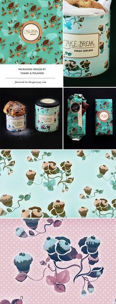 CAKE BREAK PACKAGING DESIGN BY TOMSKI & POLANSKI