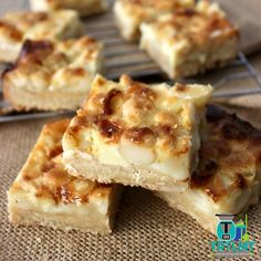 White Chocolate Macadamia Caramel Slice – The Road to Loving My Thermo Mixer
