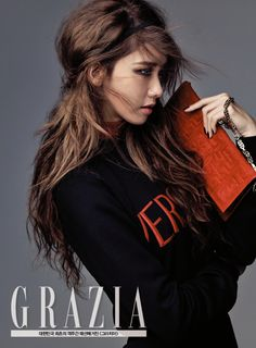 Girls' Generation SNSD Im Yoona Grazia Magazine September 2015 Photoshoot Fashion