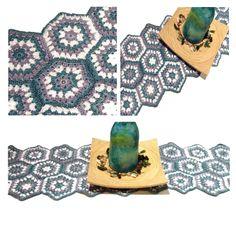 Les Antònies: GANXET: TAPET HEXAGRANNIES. Crocheting, Amigurumi, Manualidades, Patchwork Ideas, Crochet, Chrochet, Knits, Knitting