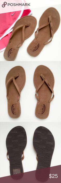 Rainbow Sandals Brown Rainbow Sandals. Worn once. Size 6. Rainbow Shoes Sandals
