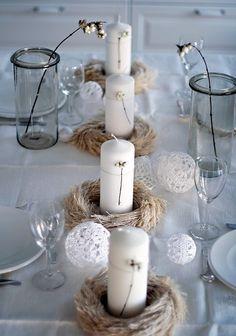 Decandyou. Ideas de decoración y mobiliario para el hogar, estilos y tendencias.Blog de decoración.: Decoración navideña en la mesa