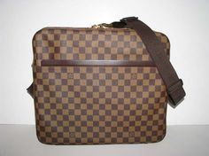 Louis Vuitton Brown Damier Canvas Dorsoduro Travel Bag