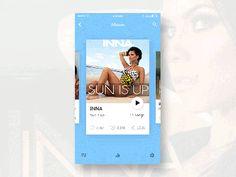 Music ios App by Srikant Shetty