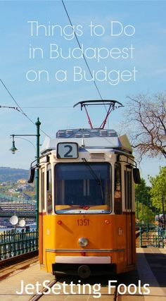 Things to do in Budapest on a Budget