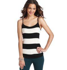 AT Loft -Colorblock Stripe Cami$15