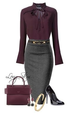 S work attire, sexy work outfit, dress work, brown pants outfit. Mode Outfits, Office Outfits, Chic Outfits, Fashion Outfits, Office Attire, Women's Work Attire, Office Wear Women Work Outfits, Work Attire Women, Dress Attire