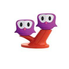 My design inspiration: Pic & Nic Salt & Pepper Violet on Fab.