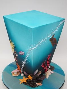 under the sea cake - now that's inspired!