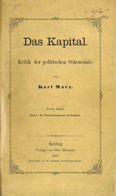 """Estórias da História: 17 de Julho de 1867: Karl Marx publica a sua obra máxima, """"O Capital"""""""