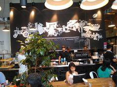 Toby Estate @ Robertson Quay, Singapore Cafe