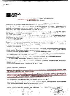 PIRAEUS BANK ROMANIA S.A. obligat sa restituie comision de acordare