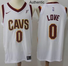 9dc73b6b3 Nike Cavaliers  0 Kevin Love White NBA Authentic Association Edition Jersey  Nba Cleveland