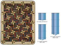 Simple strip-quilting designs: 4 techniques - Stitch This! The Martingale Blog