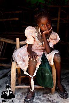 Child in Haiti - Island of Tortuga