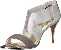 129a00e897f5d Ted Baker womens leniya lthr af dress sandal silver 8 5 m us Flats