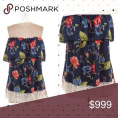 2 DAY SALE 🌷Off Shoulder Floral Print Top 1X,2X,3X. 2.2.2. 98% Polyester and 2% Spandex. Tops