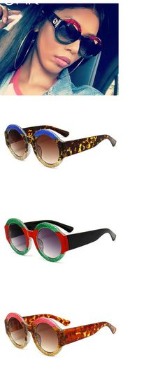 d7f8015179 Big Round Frame Vintage Fashion sunglasses.