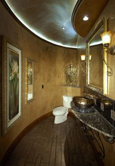 Fantastic bath room at Casa Cielo.   We worked on this home with Tara Custom Homes. #US Floors Direct #Amazing
