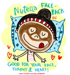 Face pack story!