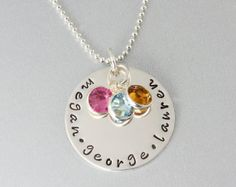 Mother's Day Jewellery Name Necklace by FiveForSilverDesigns, £31.51