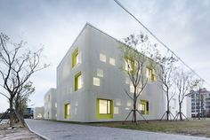 Atelier Deshaus - Youth Center in Qingpu New town