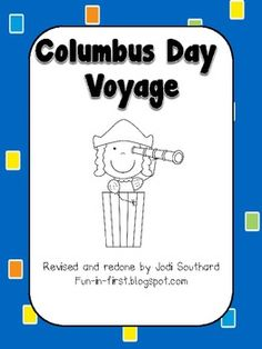 This is a fun activity to complete on Columbus Day to teach your students about the travels of Columbus.