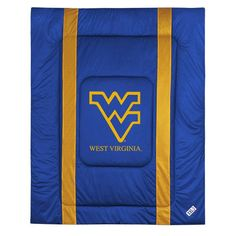 West Virginia Mountaineers Sidelines Bed Comforter