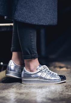 Adidas Superstar 80s METALLIC (via Kicks-daily.com)