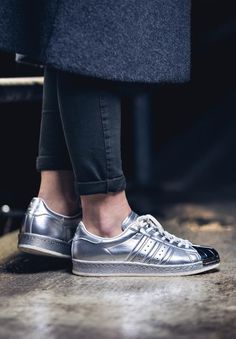 Adidas Superstar 80s METALLIC (via Kicks-daily.com)