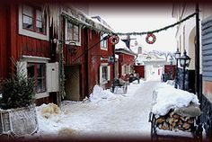 """""""Old"""" Sweden at Christmas time"""