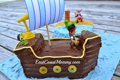 East Coast Mommy: Jake and the Neverland Pirates Cake